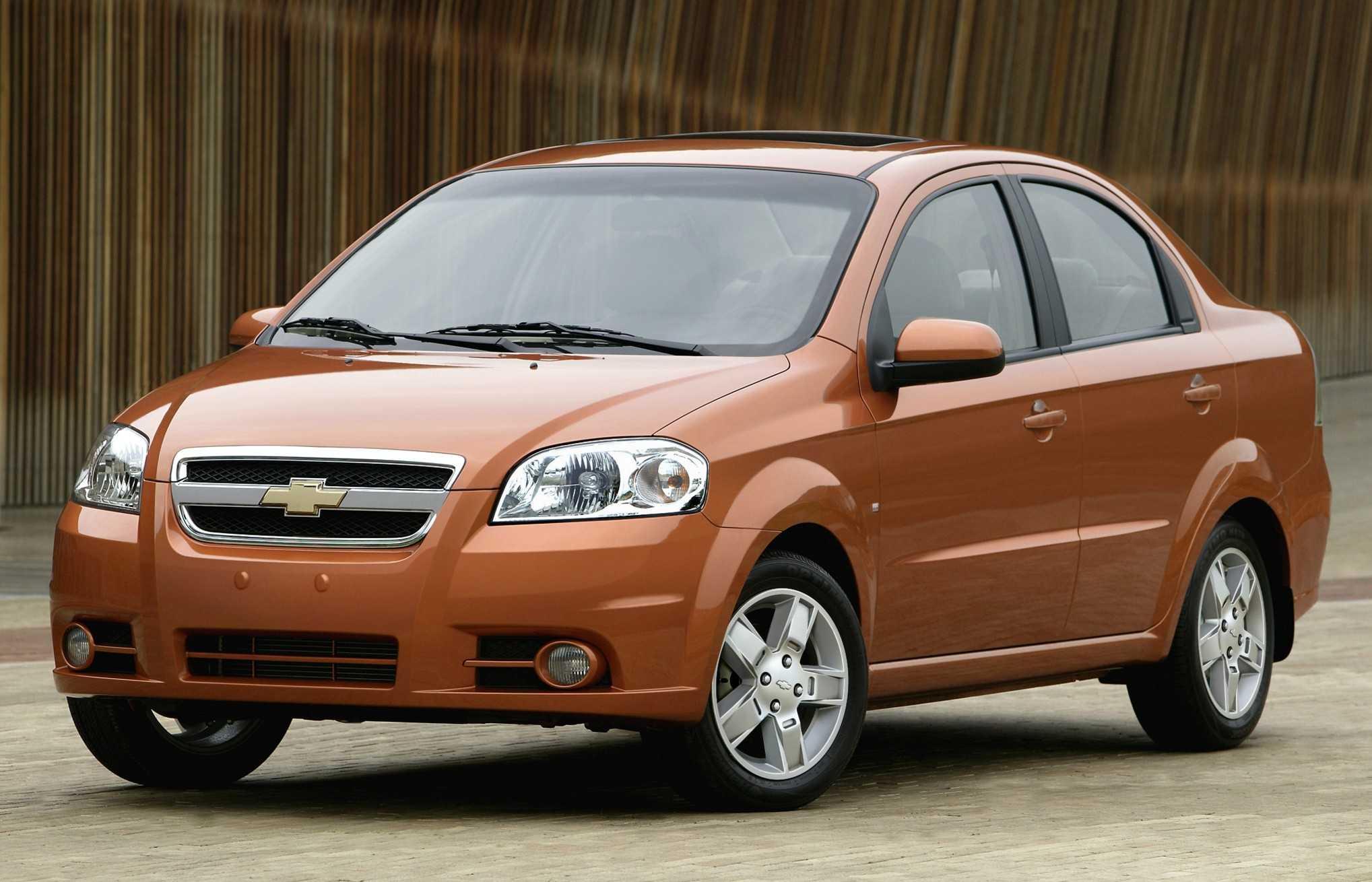 Chevrolet aveo седан t-250