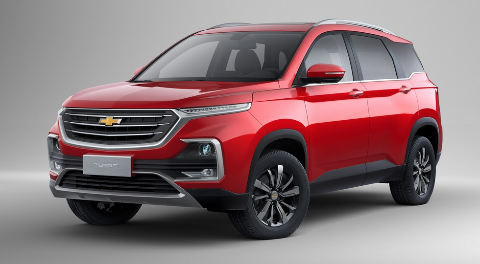 Chevrolet Captiva Turbo (2019)