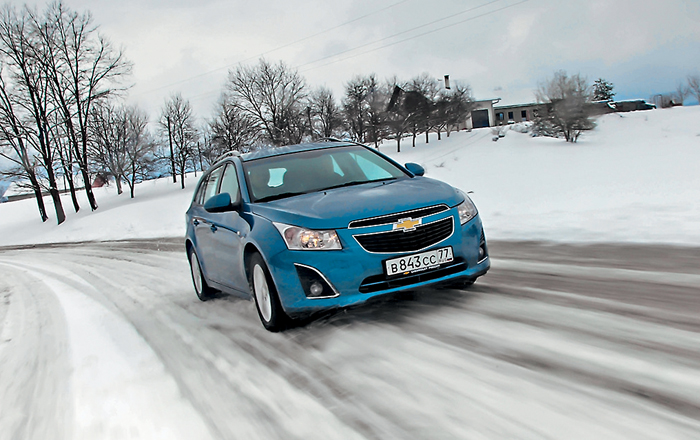 Chevrolet cruze – танцуй со мной